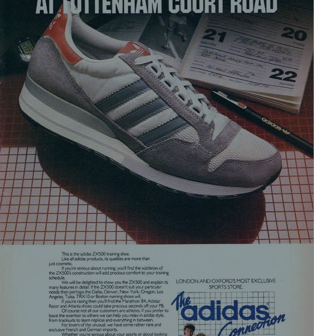 Take a look into the sporting heritage of 'the brand with the three  stripes' with these ace vintage ads.