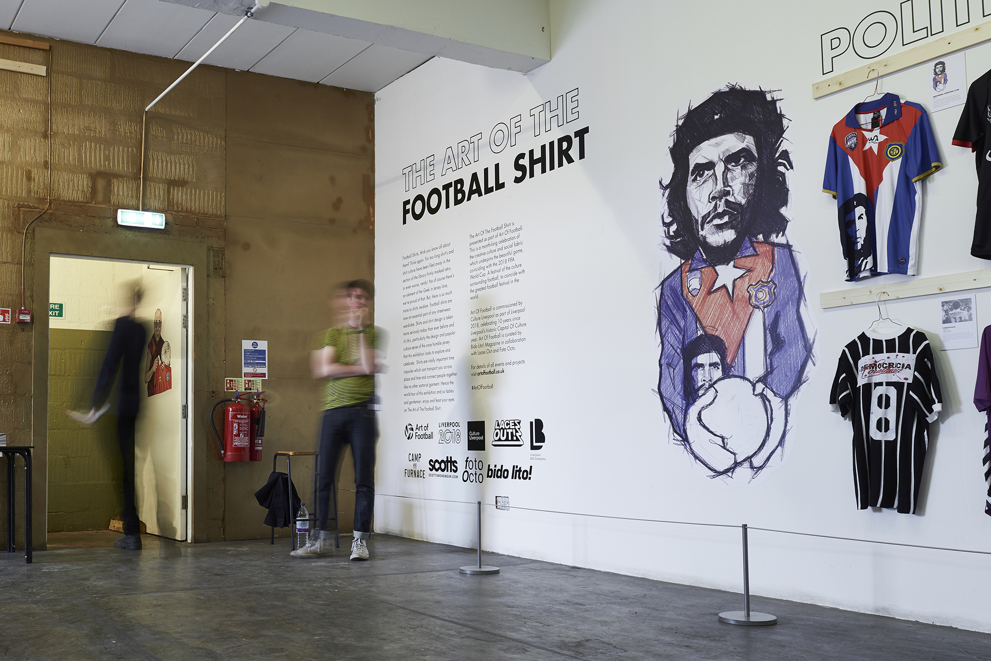 The Art Of The Football Shirt - Liverpool