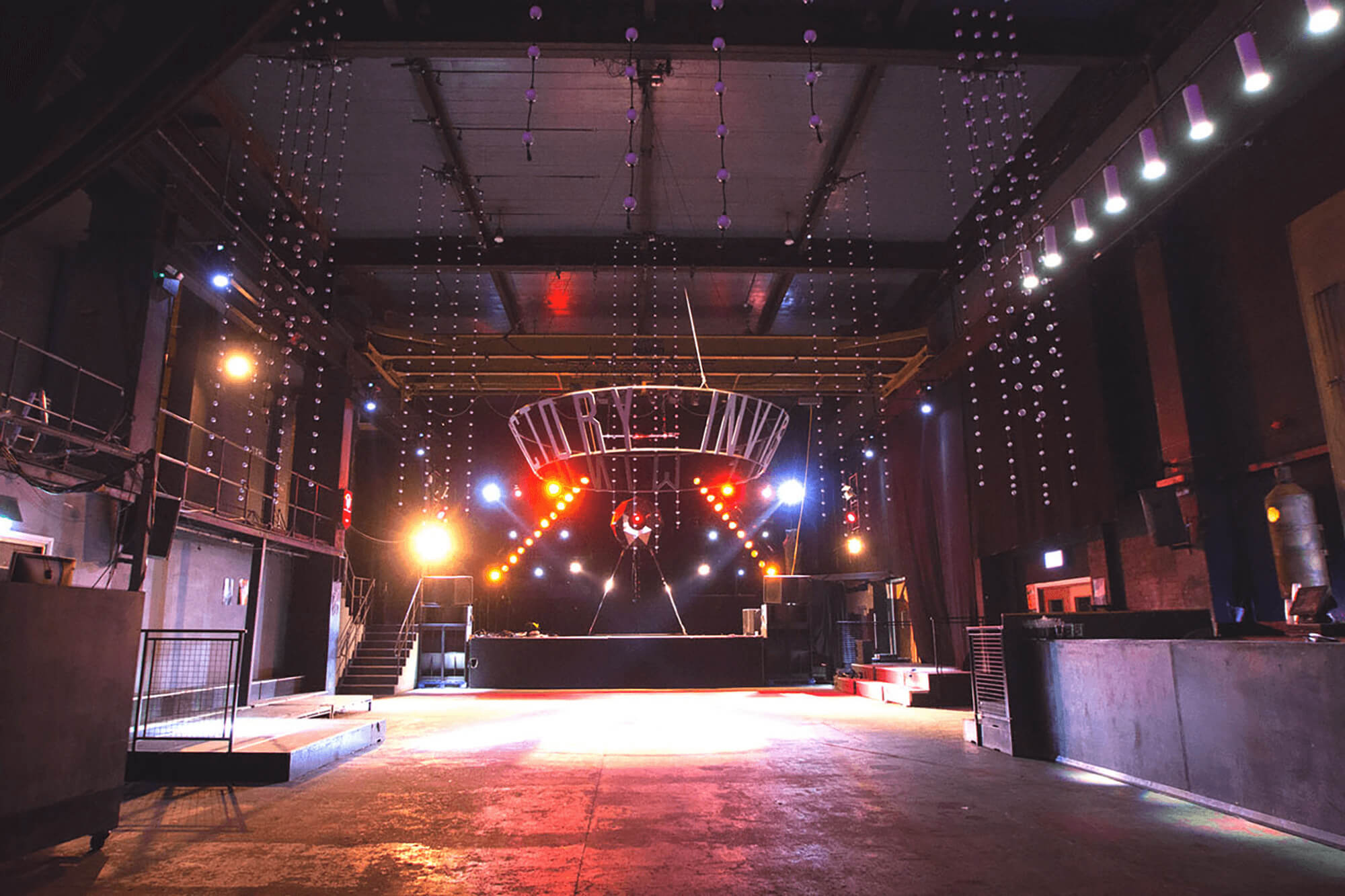 Student Music Venues - Invisible Wind Factory