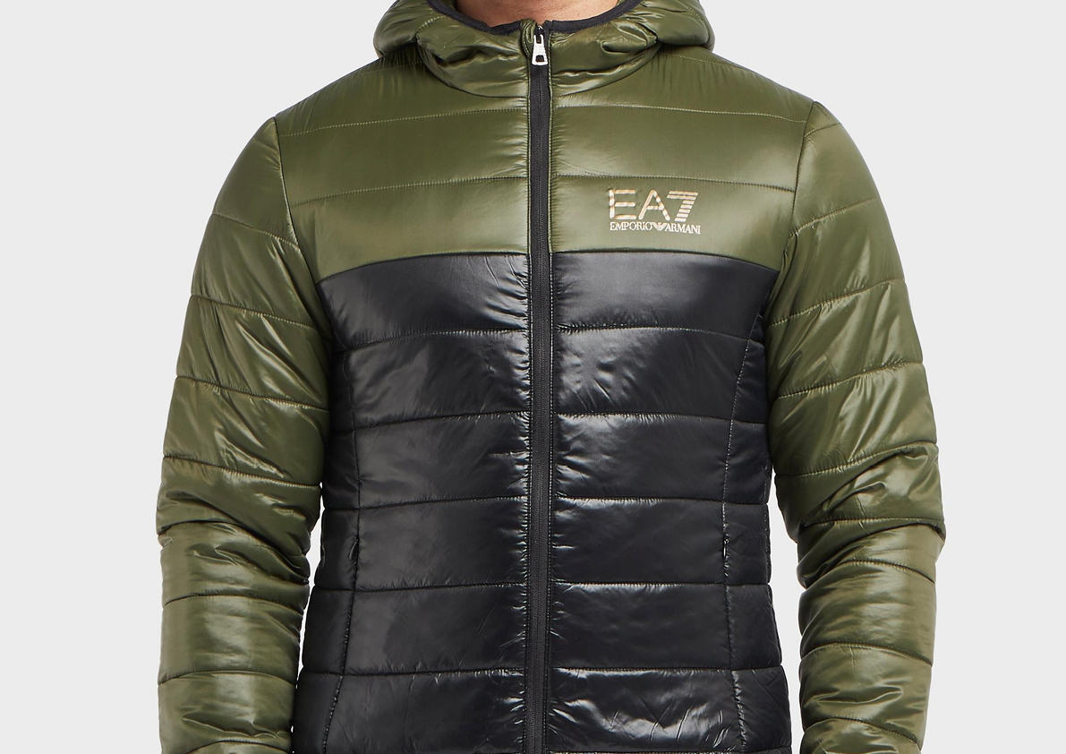 ea7 bubble jacket sale